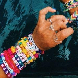 5pc Custom Pony Bead Kandi Rave VSCO Plur Bracelet